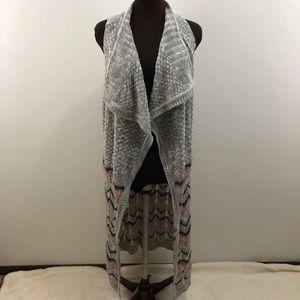 EYESHADOW | Sleeveless knit cardigan